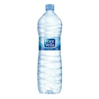 Pack de 12 botellas de 1,5L de agua FONT VELLA