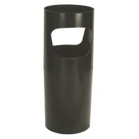 Papelera/paragüero color negro  Dimensiones:    640 x 260mm diámetro