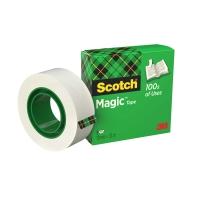 Cinta adhesiva Scotch magic invisible Dimensiones: 12 mm x 33 m