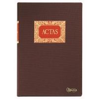 Libro DOHE Actas 100 hojas en papel litos 90 g/m2 folio natural