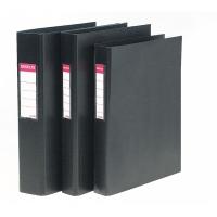 Carpeta de 4 anillas  PP  formato A4  lomo 62mm color negro  ESSELTE