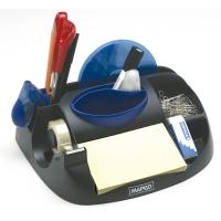 Organizador sobremesa negro c/4 compartimentos MAPED  Dimensiones: 60x80x100mm