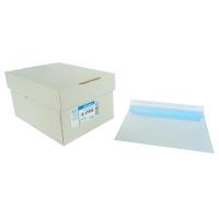 Caja 250 sobres blancos LYRECO papel offset de 17 6x 231 mm