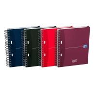 Cuaderno ESSENTIALS OXFORD 100 hojas A5+ microperforado cuadrícula 5mm colores