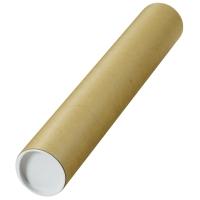 Tubo de cartón para envíos de 40 x 460 mm