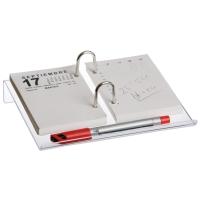Porta calendario de 150 x 215 mm. Transparente
