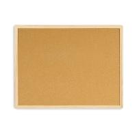 Tablero de corcho con marco de madera BI-OFFICE. dimensiones 400 x 600 mm