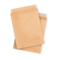 Caja 250 bolsas marrón LYRECO de 250 x 353 mm