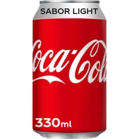 Pack de 24 latas de COCA-COLA Light de 33 cl