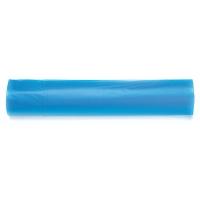 Rollo de 15 bolsas de basura de 30 litros 550x600mm color azul