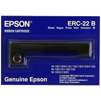 Cinta matricial EPSON nailon negro S015358 ERC-22B para M-180/181/182/183/185