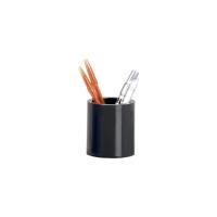 Cubilete PP alto impacto negro translúcido ARCHIVO 2000 Dimensiones: 78x90mm