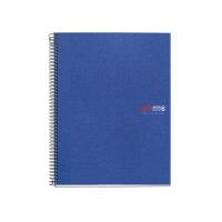 Cuaderno MIQUELRIUS Notebook6 150 hojas A5 microperforado cuadriculado azul
