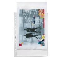 Pack de 100 fundas multitaladro folio 16 taladros  PP rugoso 55 micras ESSELTE