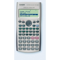 Calculadora financiera CASIO FC-100V de 12 dígitos