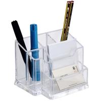 Organizador de sobremesa transparente ARCHIVO 2000  Dimensiones: 105x155x100mm