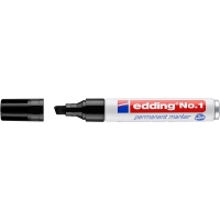 Marcador permanente EDDING Nº 1 color negro