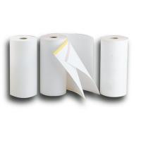 Bobina de papel Telex de 1 hoja. Dimensiones: 210 mm x 80 m