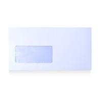Caja 500 sobres blancos AUTODEX papel offset ventana izquierda de 115x225 mm