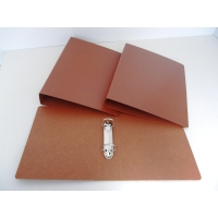 Carpetas de 2 anillas  cartón cuero  formato folio  lomo 40mm  KARMAN