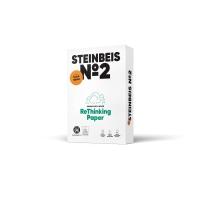 Paquete de 500 hojas papel STEINBEIS Trend White A3 80gr/m2 reciclado