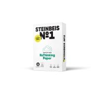 Paquete de 500 hojas papel STEINBEIS ClassicWhite A3 de 80g/m2 reciclado