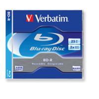 Pack de 5 BLU-RAY VERBATIM BD-R de 25 Gb