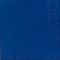 Paquete de 300 servilletas de papel tisú DUNI 240x240mm de color azul