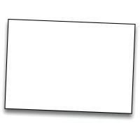 Pack de 50 cartulinas IRIS de 185 g/m2 A3 color blanco