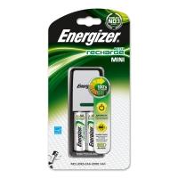 Cargador mini de 2000 mah + 2 pilas AA ENERGIZER