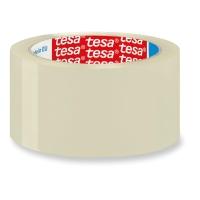 Cinta de embalar transparente PP silencioso ecológico, TESA de 132 m x 50 mm