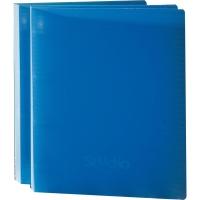 Carpeta de 2 anillas A4  polipropileno  color azul  PARDO Studio Style
