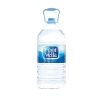 Pack de 3 garrafas de 6,25L de agua FONT VELLA