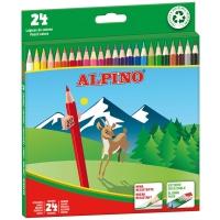 Pack 24 lápices ALPINO de colores
