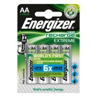 Pack de 4 pilas recargables ENERGIZER de 2,300 mah y 1,2V