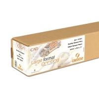 Rollo de papel plotter opaco CAD 90 g/m2 CANSON. Ancho: 914 m. Largo: 50 m