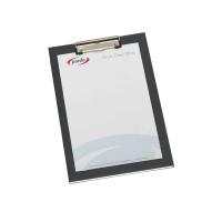Base PARDO cartón forrado pinza metálica dimensiones 250x350mm Color negro