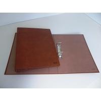Carpetas de 2 anillas 40mm  cartón cuero forrada formato folio KARMAN