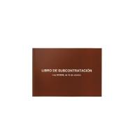 Libro DOHE SUBCONTRATACIÓN 10 hojas numeradas  A4 dimensiones castellano