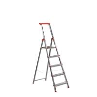 Escalera de aluminio de 5 peldaños ROLSER