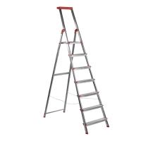 Escalera de aluminio de 7 peldaños ROLSER