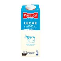 Pack de 6 briks de leche semidesnatada uperisada PASCUAL de 1L