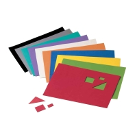 Pack de 10 hojas de goma Eva FAIBO 400x600x2mm colores surtidos