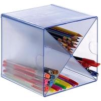 Modulo Organizador Cubo divisor de aspa transparente  Dimensiones: 190x152x152mm