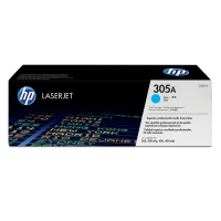 Tóner láser HP 305A cian CE411A para LaserJet color 400 M451 Series