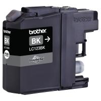 Cartucho de tinta BROTHER negro LC123BK para J4110DW/J4410DW/4510DW