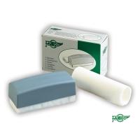 Borrador no magnético FAIBO de plástico color gris