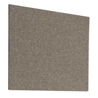 Pack de 2 paneles de corcho adhesivos PLANNING SISPLAMO 400 x 500 mm color gris