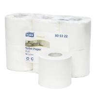 Pack de 6 rollos papel higiénico doméstico TORK Premium 2 capas 38m