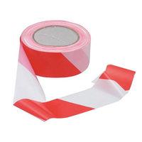 Cinta señalizadora no adhesiva VISO 100 m x 5 cm blanco/rojo